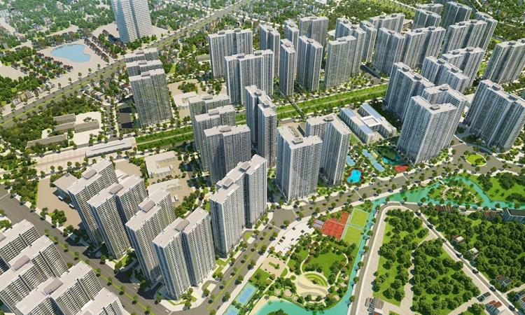 Phối cảnh dự án chung cư Vinhomes Smart City Tây Mỗ Hà Nội