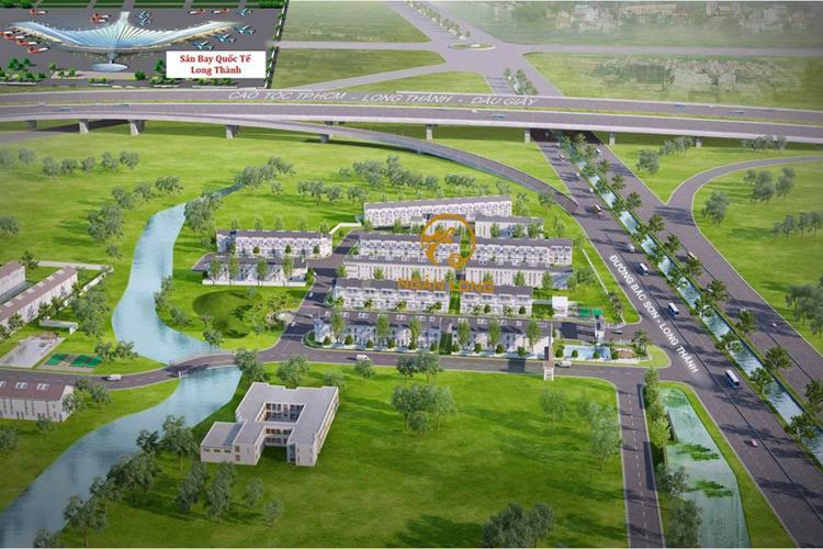 Phối cảnh dự án Khu dân cư Ngân Long