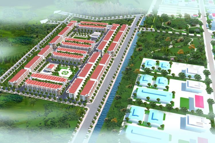 Phối cảnh dự án Dũng Liệt Green City Bắc Ninh