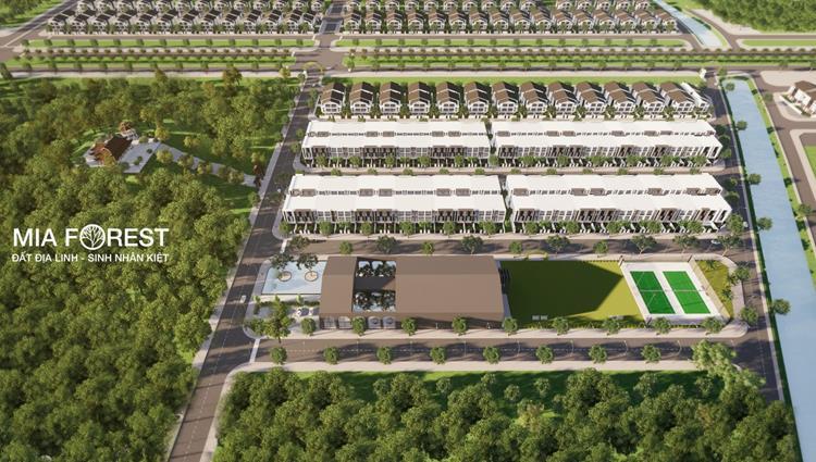 Phối cảnh dự án khu đô thị Mia Forest Bắc Sơn
