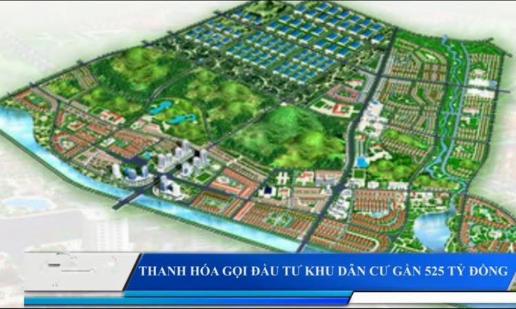 Phối cảnh dự án Nam Cổ Đam Bỉm Sơn Thanh Hoá