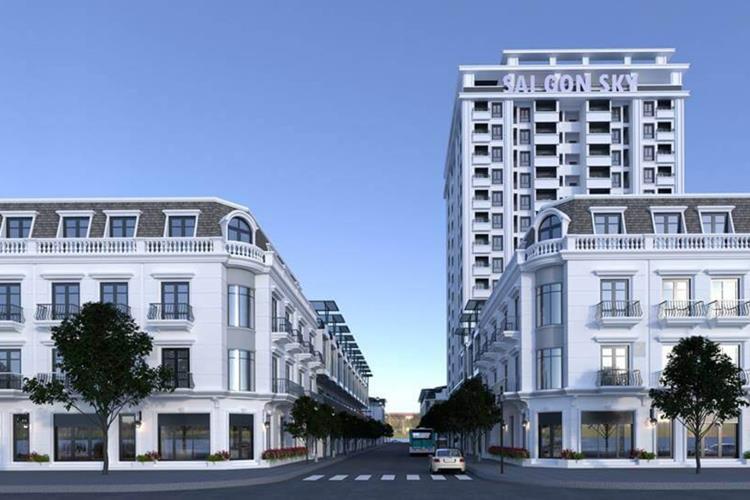 Phối cảnh dự án căn hộ SaiGon Sky Tower Nghệ An