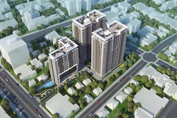 Phối cảnh dự án căn hộ Luxcity Officetel Quận 7