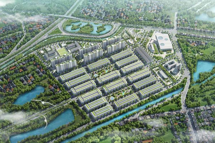 Phối cảnh dự án Him Lam Green Park Đại Phúc Bắc Ninh