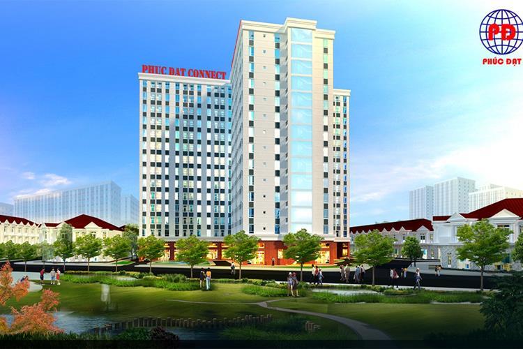 Phối cảnh dự kiến dự án căn hộ Phúc Đạt Tower Bình Dương