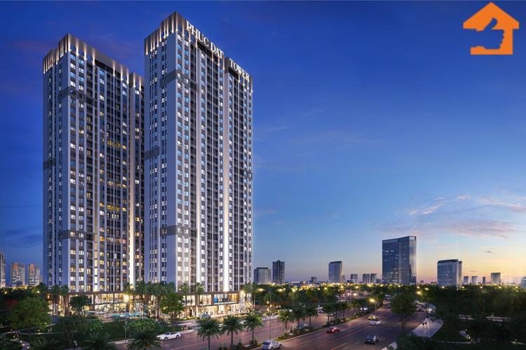 Phối cảnh chính thức dự án căn hộ Phúc Đạt Tower