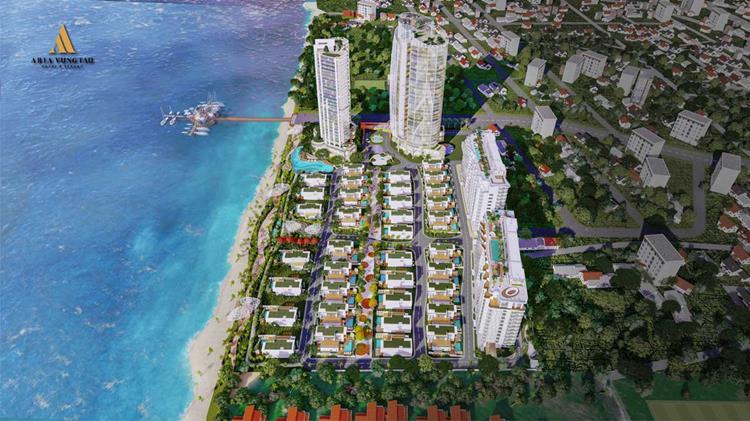 Phối cảnh dự án căn hộ Aquamarine Vũng Tàu