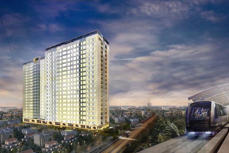 Phối cảnh dự án căn hộ Bcons Suối Tiên Bình Dương