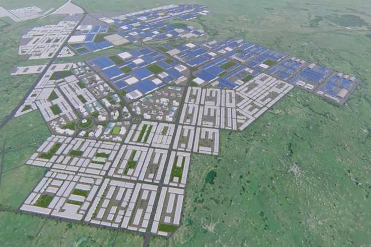 Phối cảnh dự án Becamex Bình Phước