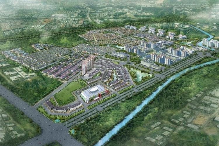 Phối cảnh dự án khu đô thị EcoLakes Mỹ Phước Bình Dương