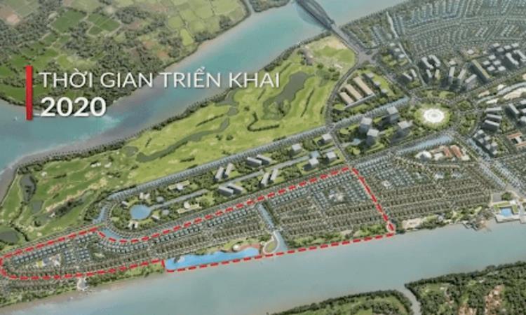 Phối cảnh dự án khu đô thị Nam Long Paragon Đại Phước