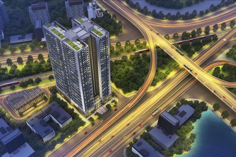 Phối cảnh dự án chung cư Hoàng Huy Grand Tower Hải Phòng