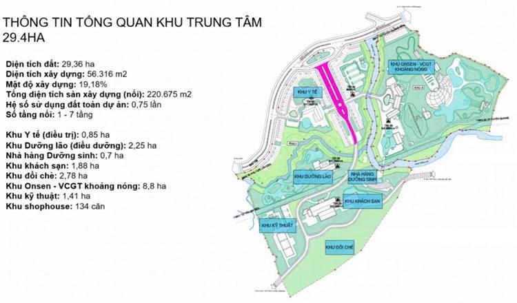 Phối cảnh dự án khu trung tâm Spring Valley Tuyên Quang