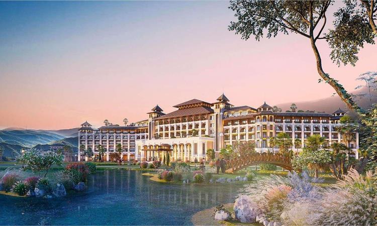 Phối cảnh dự án khu đô thị Spring Valley Tuyên Quang