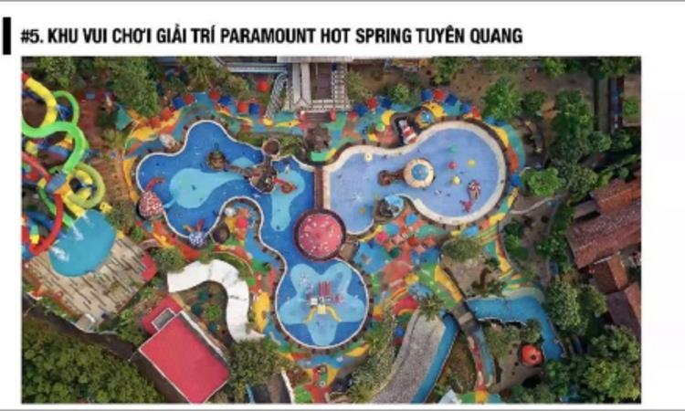 Khu vui chơi giải trí tại dự án Spring Valley Tuyên Quang