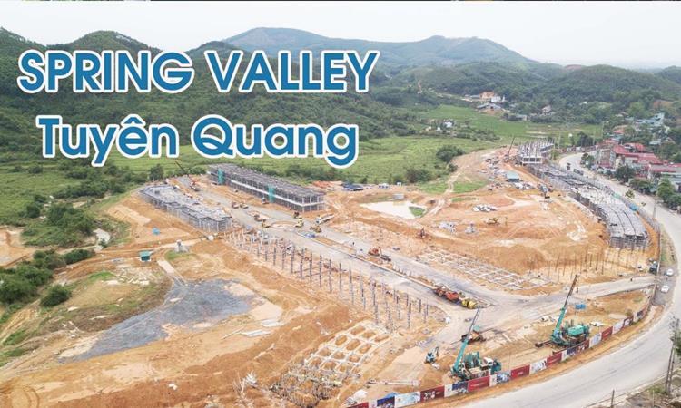 Hình ảnh thực tế dự án Spring Valley Tuyên Quang