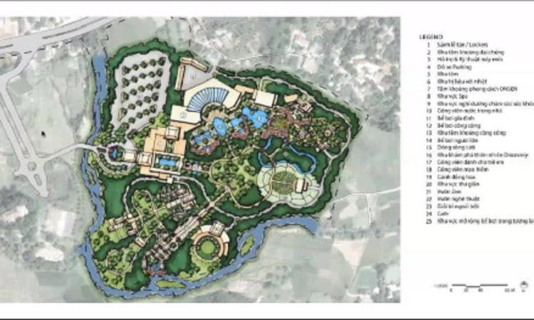 Tiện ích dự án Spring Valley Tuyên Quang