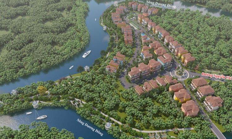 Phối cảnh dự án Royal Riverside Dương Đông Phú Quốc