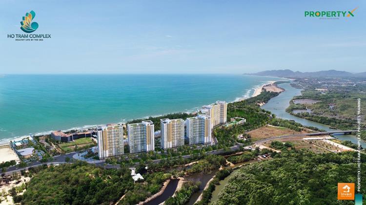 Phối cảnh dự án căn hộ Hồ Tràm Complex