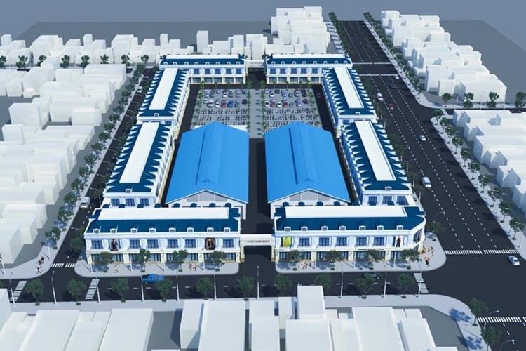 Phối cảnh dự án Cam Lâm Riverside