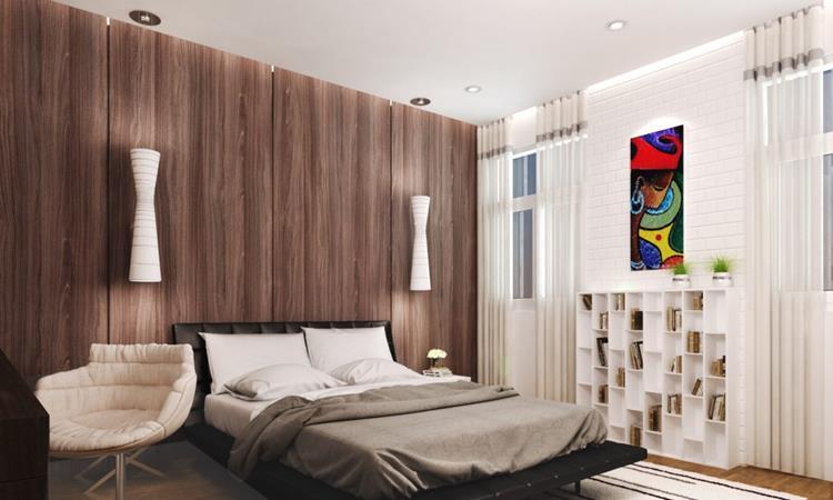 Thiết kế phòng ngủ tại căn hộ The Aston Nha Trang