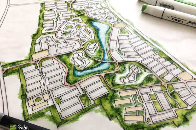 Phối cảnh dự án Trần Anh Ecological City