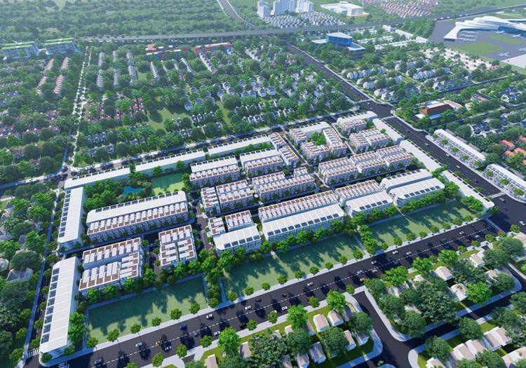 Phối cảnh dự án The Golden City Long Thành