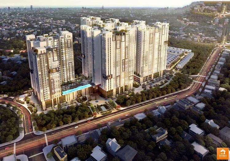Phối cảnh chính thức dự án căn hộ Astral City Bình Dương