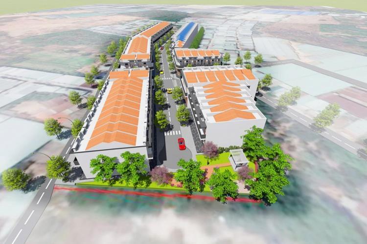 Phối cảnh dự án đất nền Hoàng Tiến Central