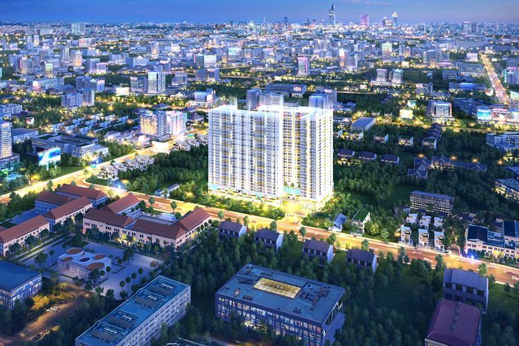 Phối cảnh khu căn hộ Legacy Central giá rẻ