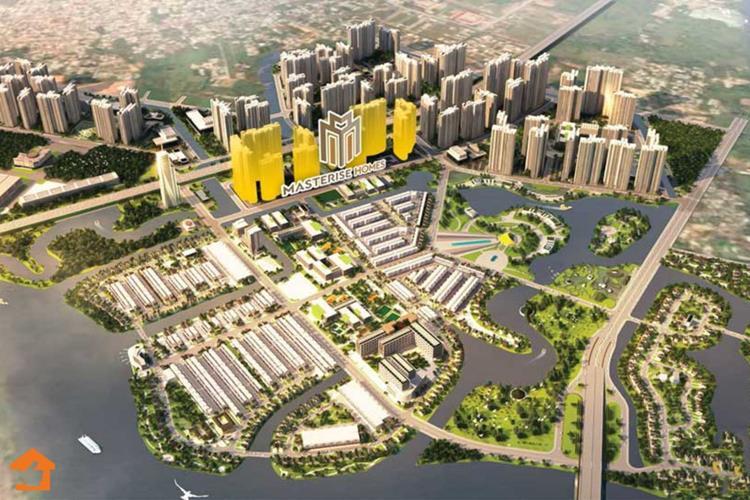 Phối cảnh dự án căn hộ Masteri Centre Point củaMasterise Homes
