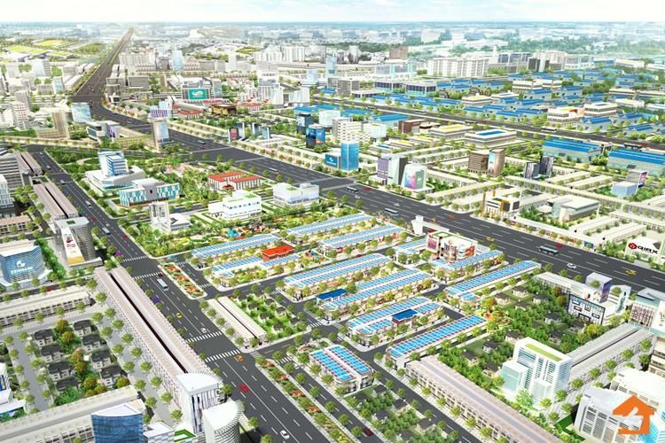 Phối cảnh dự án Crystal Central tại Bàu Bàng