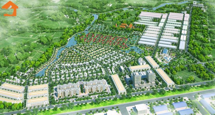 Phối cảnh dự án khu đô thị The Viva City Giang Điền