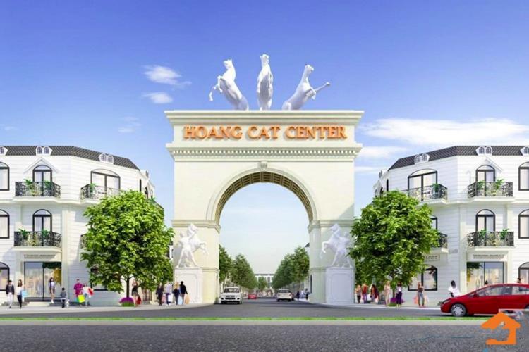 Phối cảnh cổng chính dự án Hoàng Cát Center Bàu Bàng