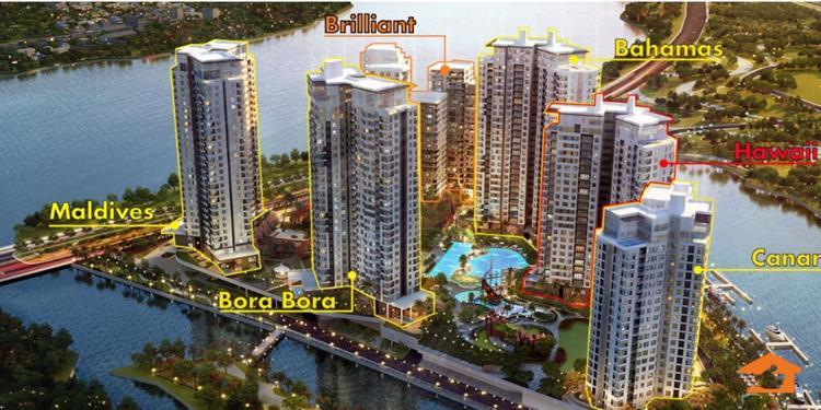 Phổi cảnh dự án căn hộ Diamond Island Đảo Kim Cương Quận 2