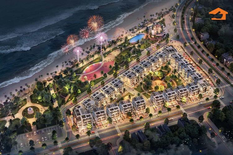 Phối cảnh dự án The Seahara Phú Yên