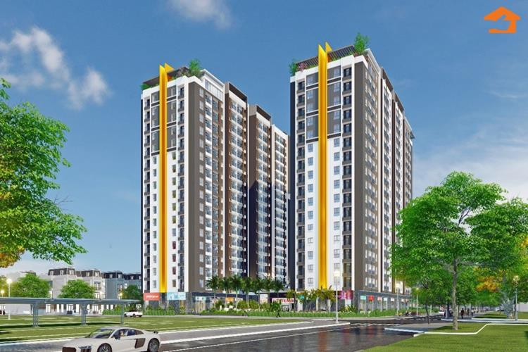 Phối cảnh căn hộ Osimi Phú Mỹ tại Bà Rịa - Vũng Tàu
