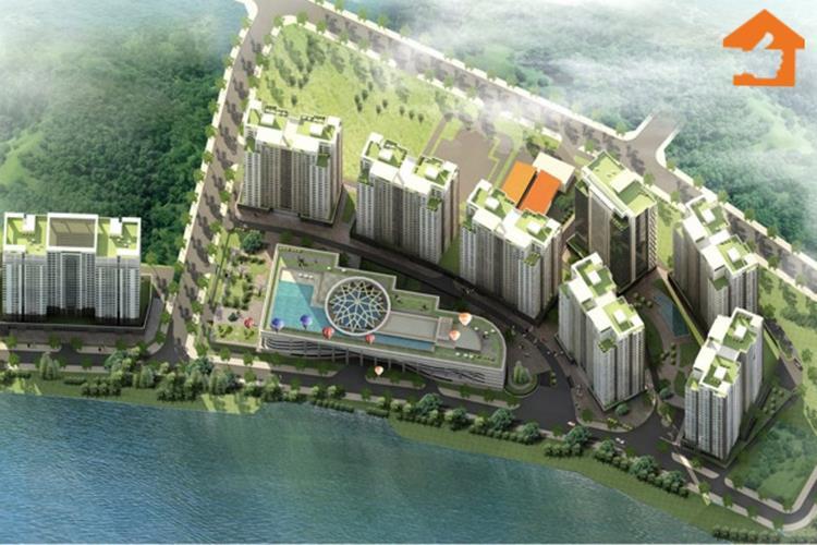 Phối cảnh tổng thể dự án căn hộ Gem Premium