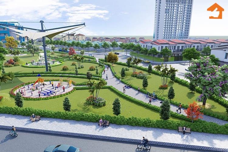 Phối cảnh công viên dự án B-New Center Bình Phước