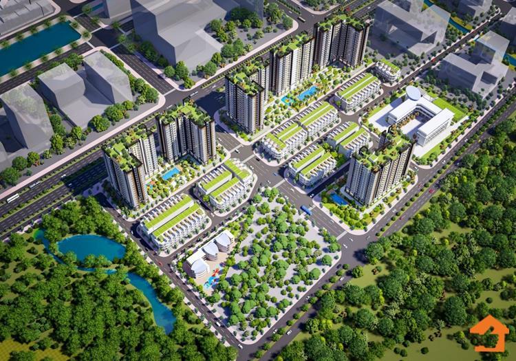 Phối cảnh dự án căn hộ NBB II City Gate 5 Bình Chánh