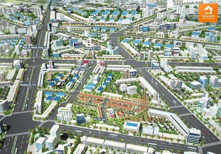 Phối cảnh dự án Casa Mall Bình Dương