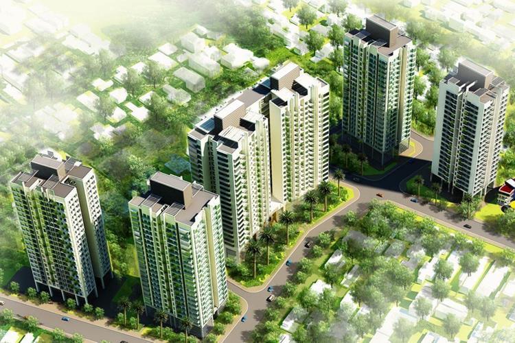 Phối cảnh dự án căn hộ Berriver Jardin Hà Nội