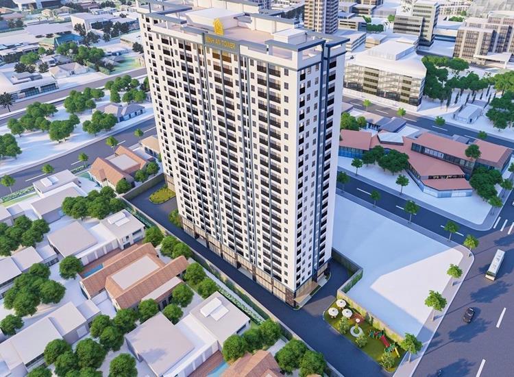 Phối cảnh dự án căn hộ Bình An Tower Bình Dương