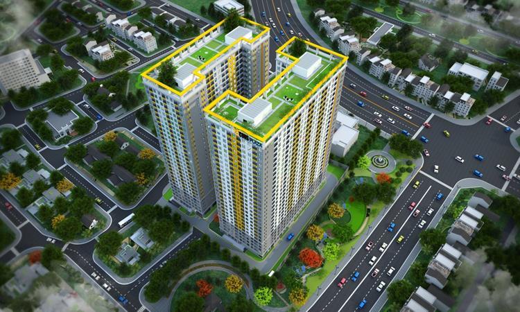 Phối cảnh dự án căn hộ Bcons Plaza