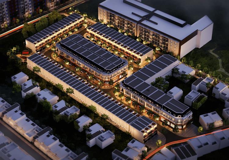 Phối cảnh dự án Thuận An Garden Home Bình Dương
