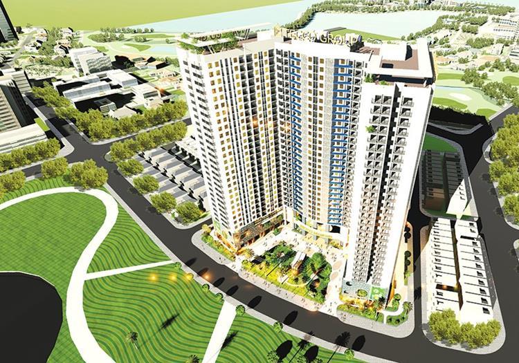 Phối cảnh dự án chung cư Tecco Diamond Thanh Trì