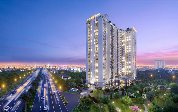 Phối cảnh dự án căn hộ Legend Complex Bình Dương