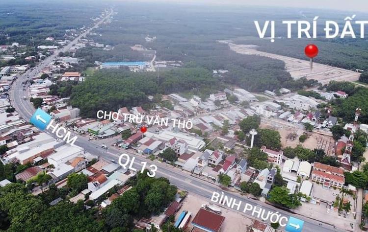 Vị trídự án khu nhà ở Thuận Phát Land