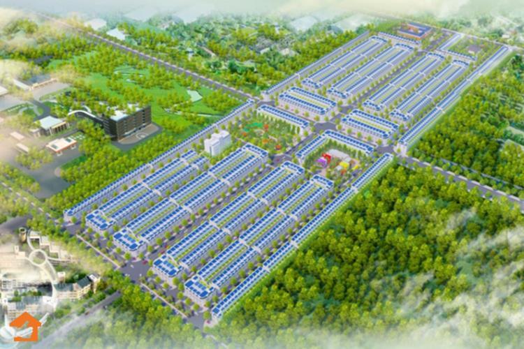 Phối cảnh dự án Thăng Long Central City Bàu Bàng