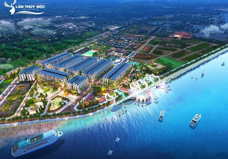 Phối cảnh dự án Chu Lai Riverside